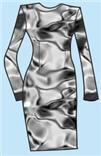 Выкройка платья футляр